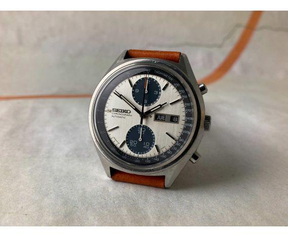 SEIKO PANDA Reloj cronógrafo vintage automático 1978 Cal. 6138-B Ref. 6138-8021 *** ESPECTACULAR ***