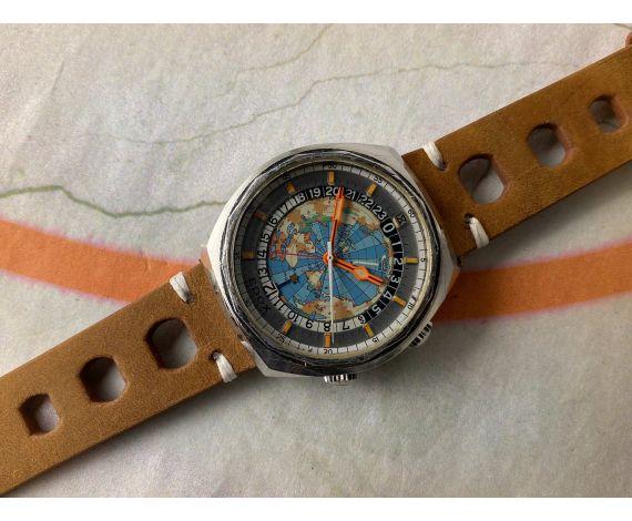 EDOX GEOSCOPE 42 Reloj suizo vintage automático Cal. ETA 2774 SUPER WATER PROOF Ref. 200170 *** COLECCIONISTAS ***