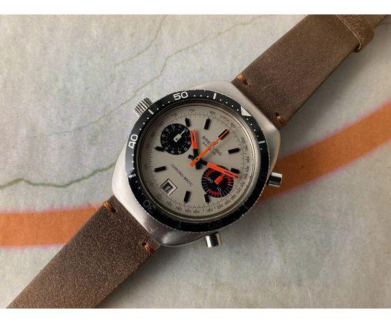Vintage BREITLING CHRONO MATIC Ref 2112 Reloj cronógrafo suizo automatico Cal. 11 *** MUY BONITO ***