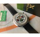 NOS MONDIA Vintage Swiss manual winding chronograph Cal. Valjoux 7734 Ref. 02.809.60 NEW OLD STOCK *** COLLECTORS ***