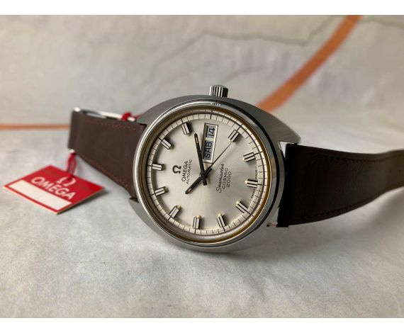 OMEGA SEAMASTER COSMIC 2000 Cal. 1022 Reloj suizo antiguo automático Ref. 166.131 *** MINT ***