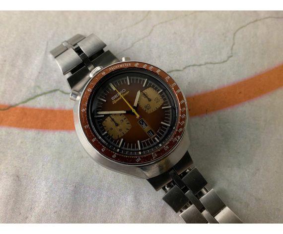 SEIKO SPEEDTIMER 1976 Vintage automatic chronograph watch Cal 6138 B JAPAN J 6138-0040 BULLHEAD *** ALL ORIGINAL ***