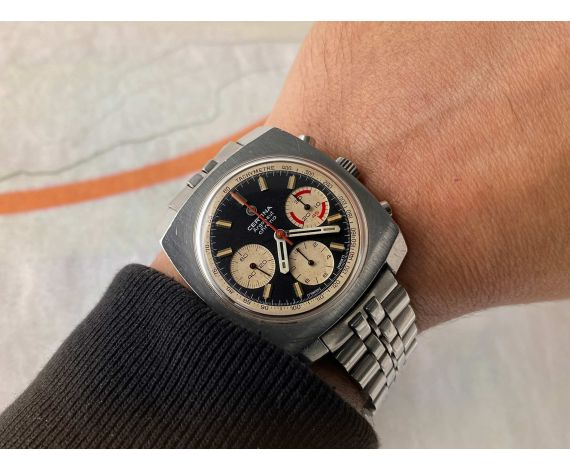 CERTINA ARGONAUT CHRONO Reloj cronógrafo antiguo de cuerda Cal. Valjoux 726 Ref. 29-062 *** TODO ORIGINAL ***