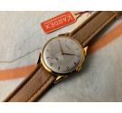 NOS KARDEX 39mm Vintage swiss hand winding watch OVERSIZE Plaqué OR Cal. FHF 26 *** NEW OLD STOCK ***