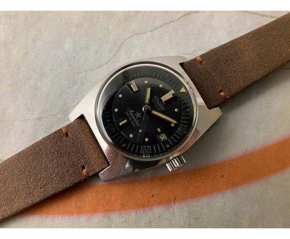 DUWARD GENEVE AQUASTAR 200 MÈTRES DIVER Reloj suizo vintage automático Cal. AS 1902/03 Ref. 1903 *** PRECIOSA CONDICIÓN ***