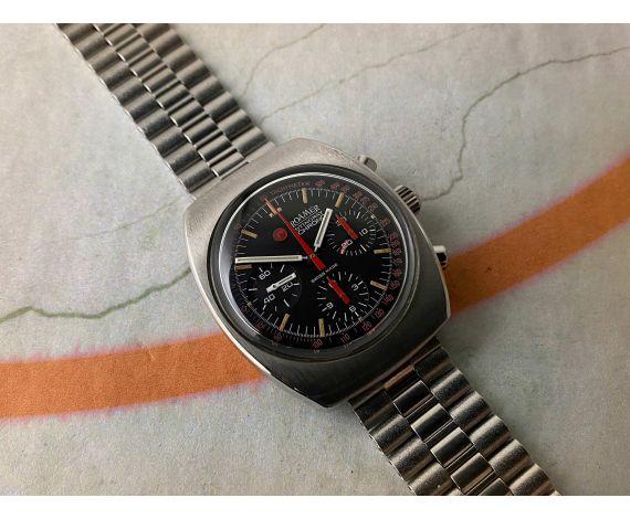 ROAMER STINGRAY Reloj Cronógrafo suizo antiguo de cuerda 400FT-120M Cal. Valjoux 72 Ref. 072-9120.602 *** ESPECTACULAR ***