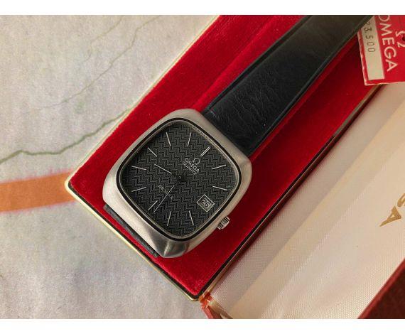 NOS OMEGA DE VILLE QUARTZ Reloj suizo vintage de cuarzo Ref. ST 192.0030 Cal. 1325 *** NUEVO DE ANTIGUO STOCK ***