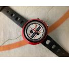 NOS HEUER LEONIDAS Easy Rider Vintage chronograph manual winding watch Cal. EB 8420 *** NEW OLD STOCK ***