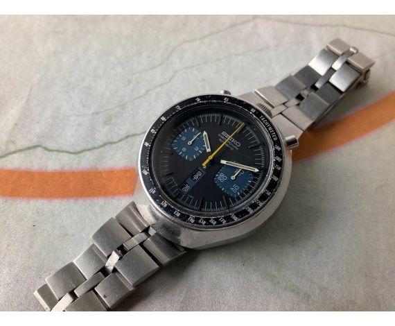 SEIKO BULLHEAD CHRONOGRAPH AUTOMATIC Ref. 6138-0040 JAPAN J Vintage Reloj cronógrafo automático Cal. 6138B *** TODO ORIGINAL ***