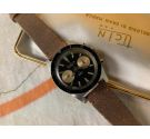 TICIN DIVER Vintage manual winding Chronograph watch 20 ATM Cal. Landeron 248 BROAD ARROW *** BIG TRIANGLE ***