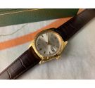 ROLEX OYSTER PERPETUAL DATEJUST Ref. 1601 Vintage swiss automatic watch 1966 Cal. 1570 18K Yellow Gold *** COLLECTORS ***