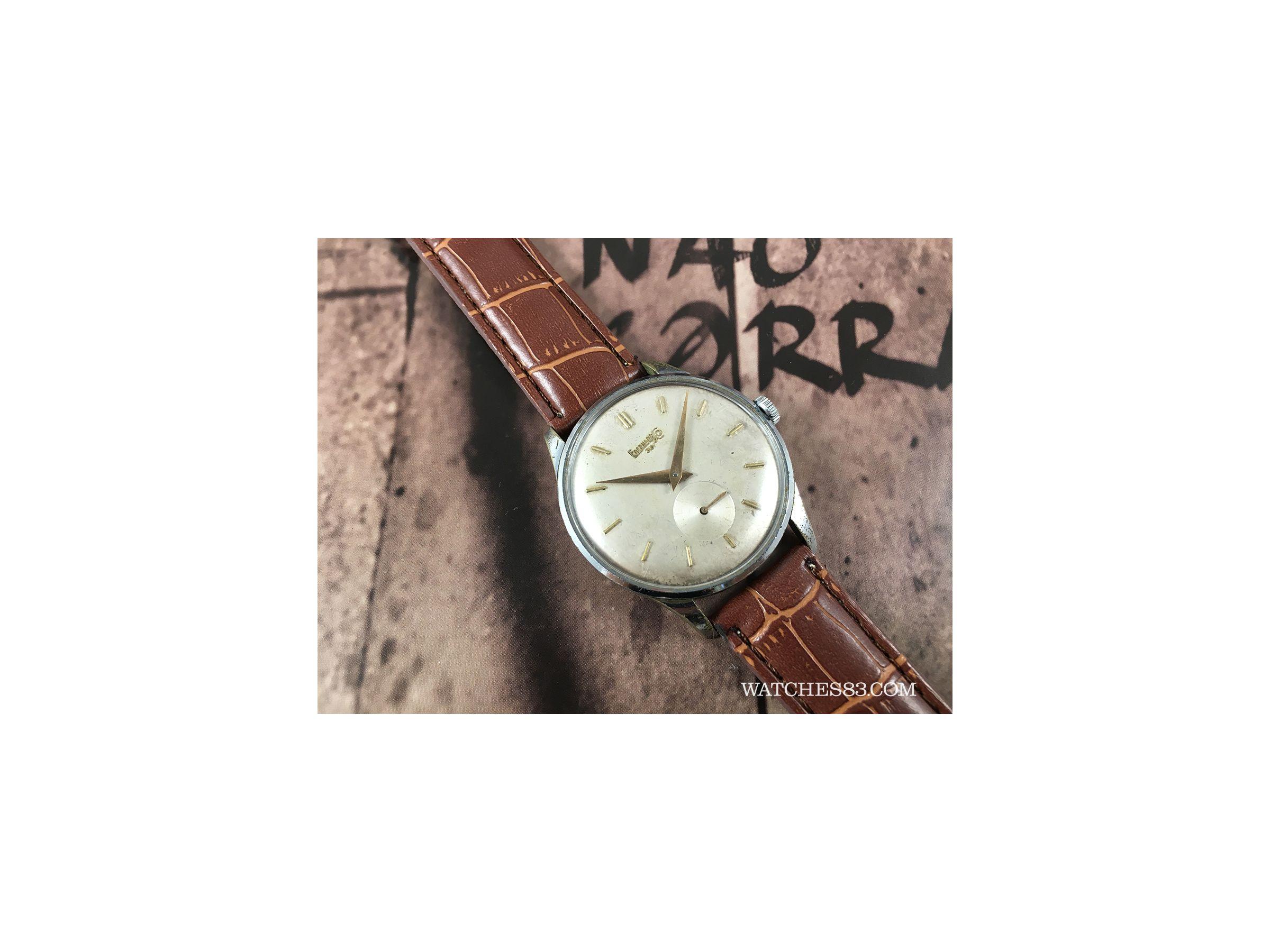 Vintage swiss watch hand winding Eberhard & Co Mod. 30