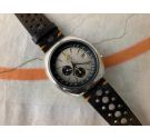DUGENA Vintage swiss automatic chronograph 1972 watch Ref. 9801A Cal. Dugena 4800 (Lemania 1340) *** OVERSIZE ***