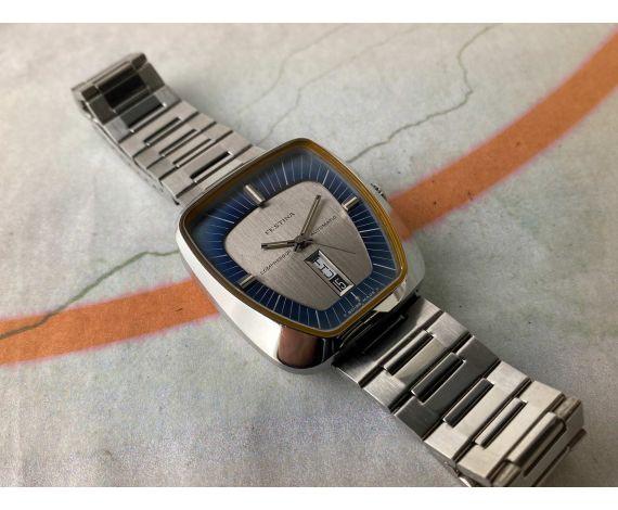 FESTINA COMPRESSOR NOS Reloj suizo automático vintage Cal. ETA 2836 Ref. 344.201 *** NUEVO DE ANTIGUO STOCK ***