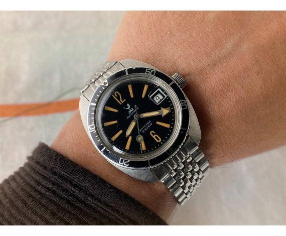 JAZ Reloj DIVER antiguo automático Cal. FE 3611 200M Lollipop second hand BROAD ARROW *** ESPECTACULAR ***