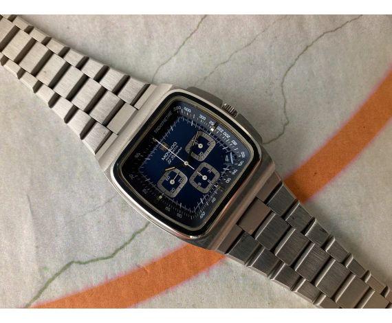 MOVADO EL PRIMERO TV-SCREEN Swiss automatic chronograph watch Cal. Zenith 3019 Ref. 01.0200.416 *** COLLECTORS ***