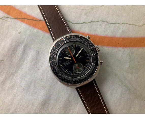 SEIKO CALCULATOR Reloj vintage cronografo automático Cal 6138 Ref 6138-7000 *** GRAN DIÁMETRO ***