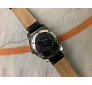 FLICA SQUALE 250 SUPERMATIC Vintage swiss automatic watch 25 ATMOS Cal. 4007N Screw-down crown *** OVERSIZE ***