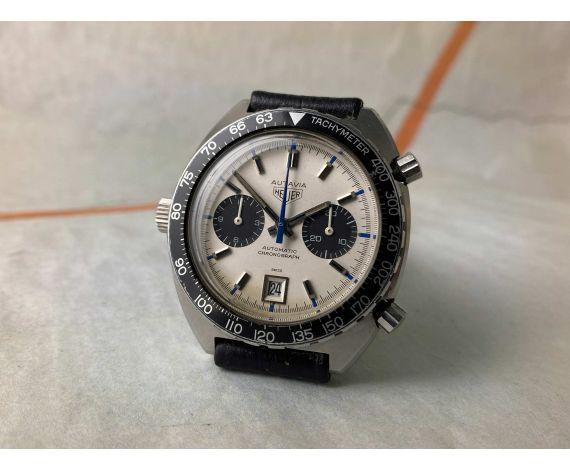 HEUER AUTAVIA JO SIFFERT Ref. 1163T Reloj cronógrafo suizo antiguo automático Calibre 11 *** COLECCIONISTAS ***