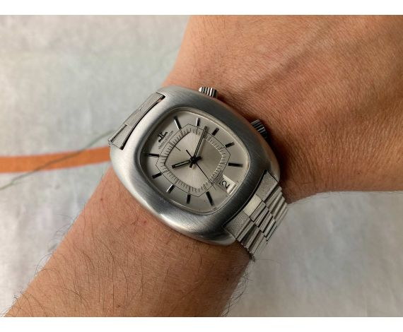 JAEGER LECOULTRE MASTER MEMOVOX Reloj ALARMA suizo vintage automático Cal. 916 Ref. E 872 *** ESPECTACULAR ***