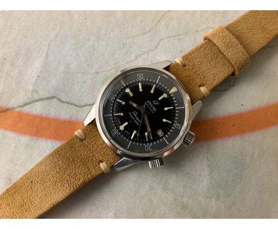ENICAR SHERPA SUPER DIVE Ref. 144-35-02 Reloj suizo automático vintage Cal. AR1145 GRAN DIÁMETRO *** ESPECTACULAR ***