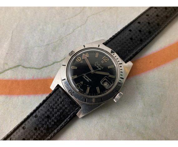 EVILARD Diver Reloj suizo automático vintage 25 Rubis Cal. ETA 2789 *** PRECIOSO ***