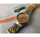 N.O.S. TUDOR PRINCE OYSTERDATE Vintage swiss automatic watch Cal. ETA 2824-2 Ref. 72033 Steel and Gold *** NEW OLD STOCK ***