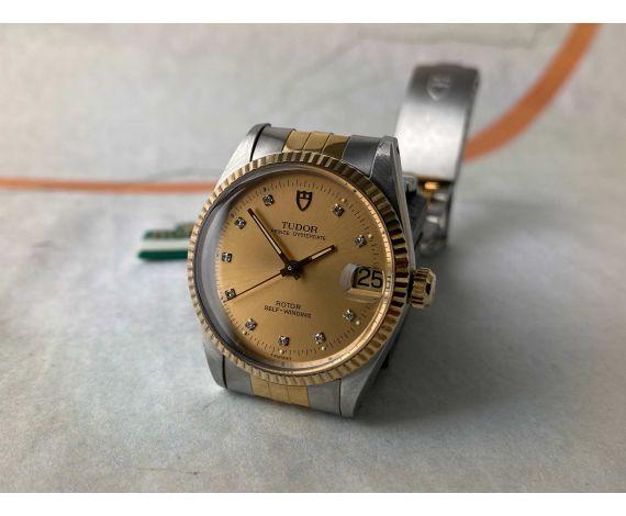 N.O.S. TUDOR PRINCE OYSTERDATE Reloj suizo automático vintage Cal. ETA 2824-2 Ref. 72033 *** NUEVO DE ANTIGUO STOCK ***
