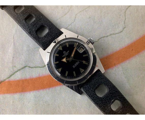 MARDON FLEET Vintage swiss automatic DIVER watch Cal. AS 1700-01 BROAD ARROW *** BLACK GLOSSY DIAL ***