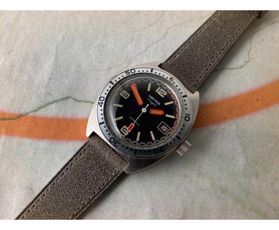 HERMA CALYPSO DIVER Reloj vintage automático Cal. FE 3611 *** 200M ***