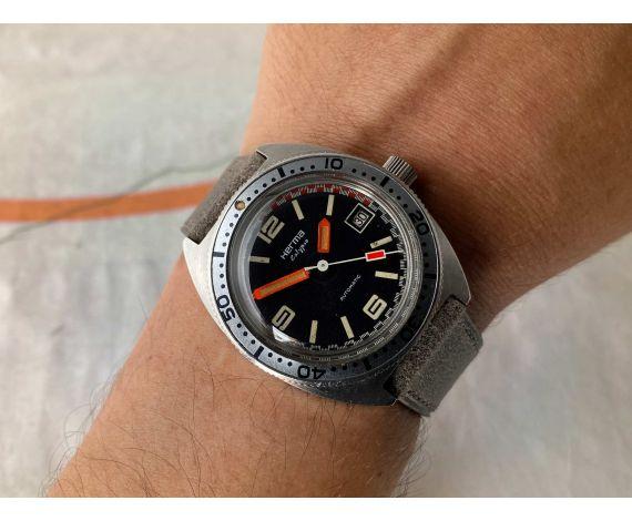 HERMA CALYPSO DIVER automatic vintage watch Cal. FE 3611 *** 200M ***