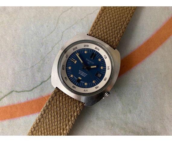 TISSOT DL SUPER COMPRESSOR Reloj suizo antiguo automático 21 jewels Cal. ETA 784-2 *** GIGANTE ***