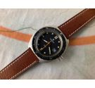 AQUASTAR GENÈVE SA ATOLL Vintage swiss automatic DIVER watch Cal. AS 2063 SCREW DOWN CROWN *** COLLECTORS ***