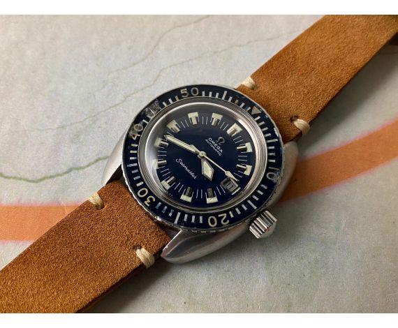 OMEGA SEAMASTER DEEP BLUE Reloj Vintage suizo automático DIVER Cal. 565 Ref. 166.073 OVERSIZE *** TODO ORIGINAL ***