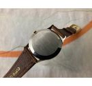 NOS STUDIO 38 mm Vintage hand winding swiss watch Cal Vulcain 590 Oversize Plaque OR BEAUTIFUL DIAL *** NEW OLD STOCK ***