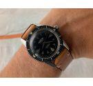 AUREOLE DIVER NAUTILUS Vintage swiss automatic watch Cal. ETA 2451 PRECIOUS PATINA *** SPECTACULAR MARKERS ***