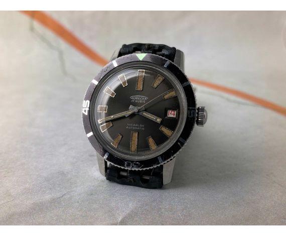 AUREOLE DIVER Reloj suizo vintage automático 20 ATMOSPHERES Cal. ETA 2452 Ref. 660.39 RADIUM *** PRECIOSA PÁTINA ***