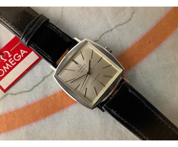 N.O.S. OMEGA DE VILLE 1966 Reloj suizo antiguo automático Ref. 161.022 Cal. 711 *** NUEVO DE ANTIGUO STOCK ***