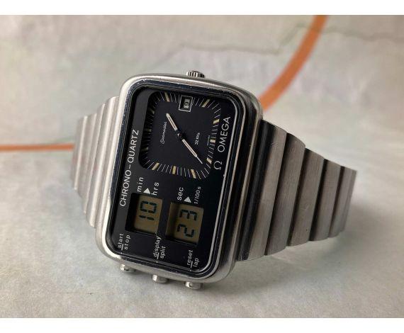 OMEGA SEAMASTER CHRONO-QUARTZ ALBATROS MONTREAL 1976 Ref. 1960052 Reloj vintage suizo de cuarzo Cal. 1611 *** COLECCIONISTAS ***