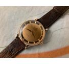 UNIVERSAL GENEVE POLEROUTER DE LUXE Vintage swiss automatic watch Cal. 138SS BUMPER Ref. B10234-1 *** 18K SOLID GOLD ***