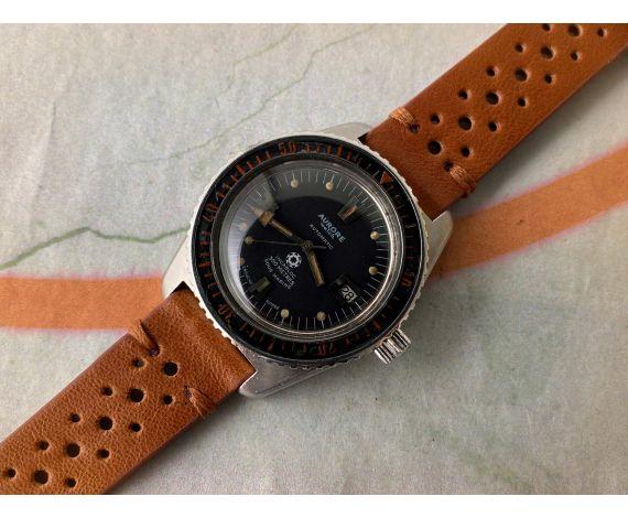 AURORE WATCH SOUS MARINE 300M Reloj DIVER suizo vintage automático Cal. AS 1882/83 GRAN DIÁMETRO *** BISEL BAQUELITA ***