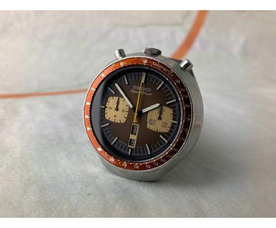 SEIKO SPEEDTIMER BULLHEAD 1977 Reloj cronógrafo antiguo automático Cal 6138 B JAPAN J 6138-0040 *** PRECIOSO ***