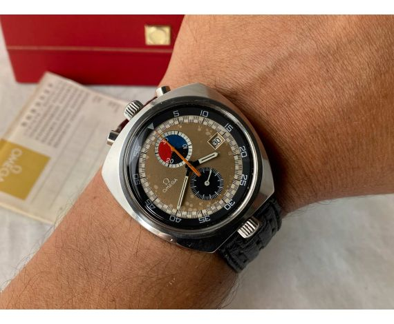 OMEGA SEAMASTER BULLHEAD 1969 Reloj Cronógrafo suizo vintage de cuerda Cal. 930 Ref. 146.011-69 *** TODO ORIGINAL ***
