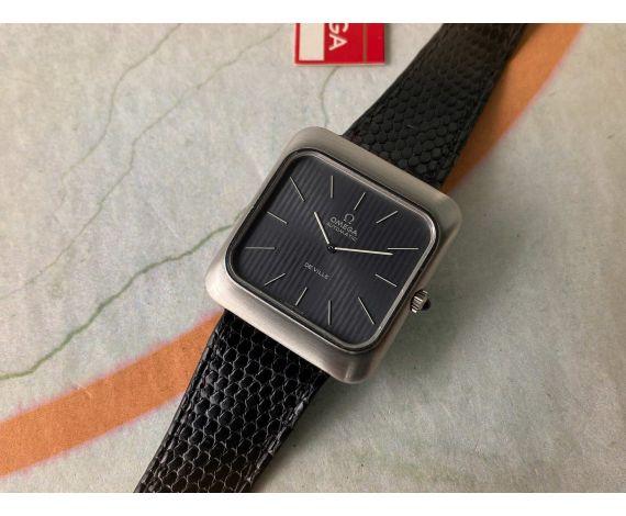 N.O.S. OMEGA DE VILLE 1973 Reloj suizo vintage automático Ref. 151.0047 Cal. 711 *** NUEVO DE ANTIGUO STOCK ***