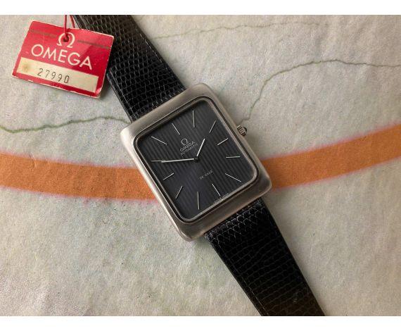 N.O.S. OMEGA DE VILLE Reloj suizo vintage automático Cal. 711 Ref. ST 151.0046 *** NUEVO DE ANTIGUO STOCK ***