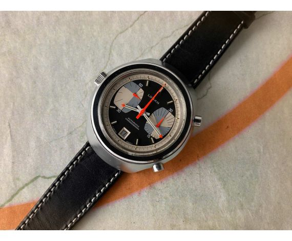 LOSAN AUTOMATIC CHRONOGRAPH Vintage Swiss Automatic Chronograph Watch Cal. 15 Ref. 4300 *** SPECTACULAR DIAL ***