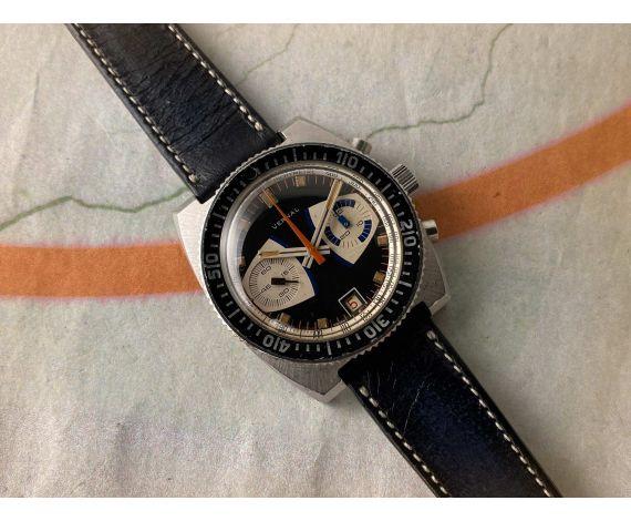 VERNAL DIVER Reloj Cronógrafo suizo antiguo de cuerda 20 ATM Cal. Valjoux 7734 *** OVERSIZE ***