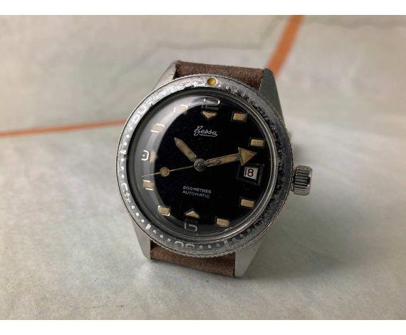 BESSA 200M DIVER Reloj vintage automático Cal. AS 1882/83 DIVER 20 ATMOSPHERES *** SKIN DIVER ***