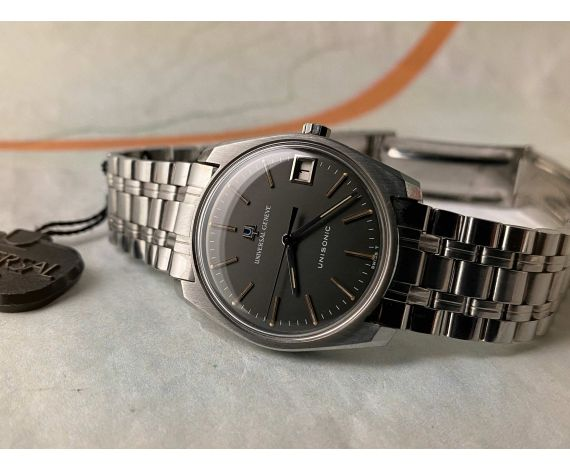 N.O.S. UNIVERSAL GENEVE UNISONIC Vintage swiss watch from Diapason Cal. 1-52 Ref. 852100/30 *** NEW OLD STOCK ***