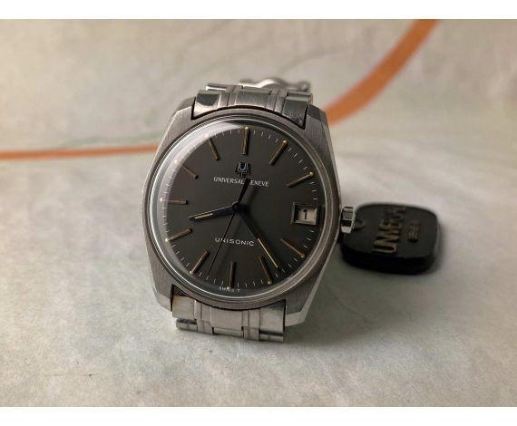 N.O.S. UNIVERSAL GENEVE UNISONIC Reloj suizo antiguo de Diapason Cal. 1-52 Ref. 852100/30 *** NUEVO DE ANTIGUO STOCK ***
